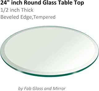 Best 48 inch round tempered glass Reviews