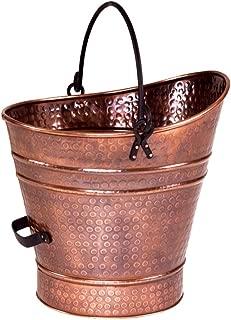 Minuteman International Coal Hod, Small Pellet Bucket, Copper