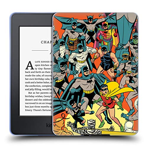 Head Case Designs Officially Licensed Batman DC Comics Detective Comics 1000 Robin Iconic Comic Book Costumes Soft Gel Case Compatible with Kindle Paperwhite 1/2 / 3
