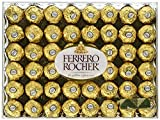Chocolate Assorted Ferrero Rocher Fine Hazelnut Chocolates, Flat 48 Count, 21.2 oz. With Free Inspiration Baby on Board (96 Count)