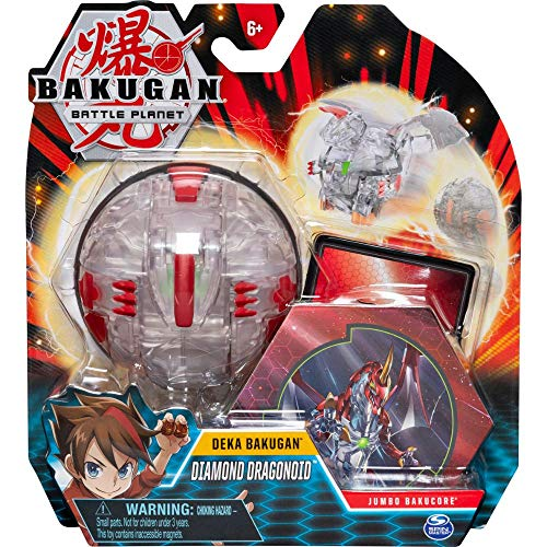 Bakugan 6051238 - Deka Jumbo Ball, 10cm große Sammelfigur, unterschiedliche Varianten
