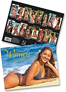 Beautiful Women of Hawaii, 2019 16 Month Trade Calendar, November 2018 - February 2020