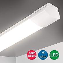 LED 60//90//120cm Leuchtstoffröhre Deckenleuchte Büroleuchte ULTRASLIM 25mm