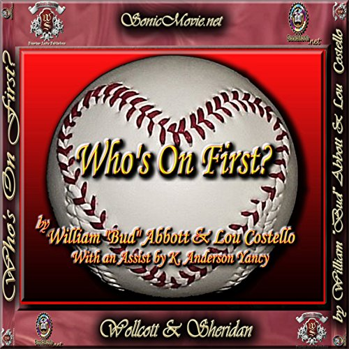 Who's on First? audiobook cover art
