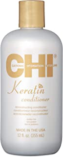 CHI Keratin Reconstructing Unisex All Hair Conditioner, 355 ml