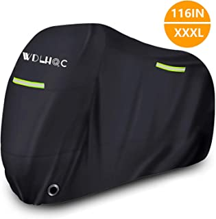 Motorcycle Cover,WDLHQC Waterproof Motorcycle Cover All Weather Outdoor Protection,Oxford..