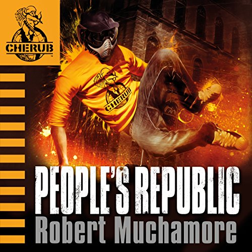 Cherub: People's Republic audiobook cover art
