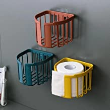 Toiletrolhouder, badkamerweefselhouder voor badkamer, keuken, wasruimte -rood