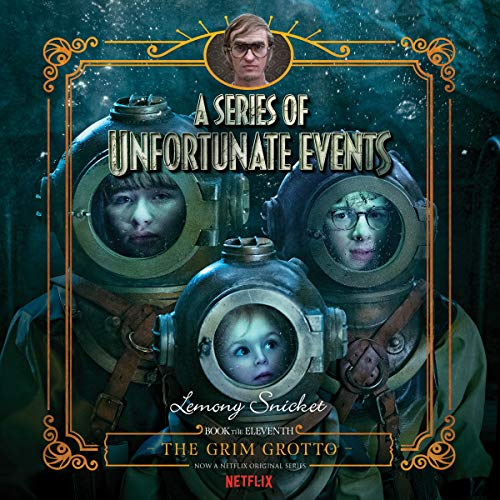 The Grim Grotto audiobook cover art
