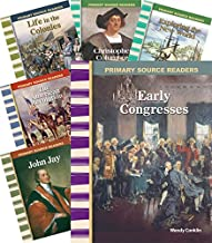 Teacher Created Materials - Primary Source Readers: Early American History - 8 Book Set - Grades 4-5 - Guided Reading Level O - S