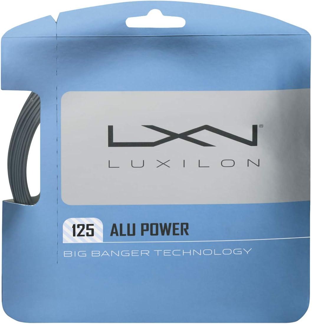 Luxilion Ranking TOP9 ALU Power 125 Tennis Racquet Sales String Set 1.2 Gauge 16L