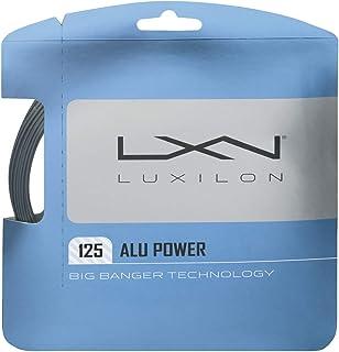 Wilson Unisex-Adult Big Banger Alu Power 125 Luxilon Tennis String Set, Silver, 12.2 m
