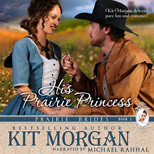 His Prairie Princess audiobook cover art