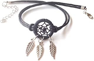 Dream Catcher Necklace For Women Sterling Silver Gold Pink