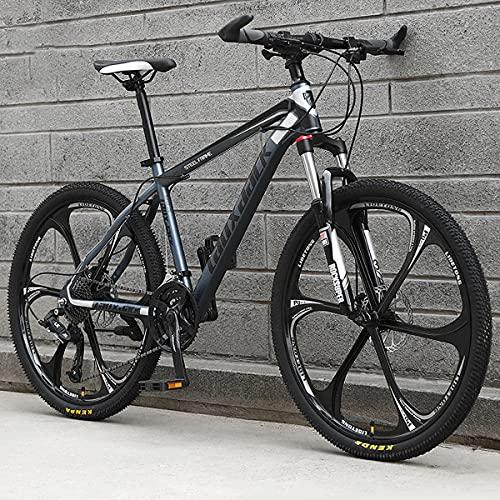 GGXX 24/26 Pollici Mountain Bike Fuoristrada 21/24/27 velocità Freno A Doppio Disco Sospensione Completa Uomini E Donne Adulti Mountain Bike/Città All'Aperto
