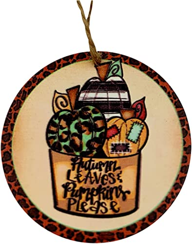 2021 Wooden Halloween Tags Pumpkin Pattern Hanging Tag Wooden Hanging Sign Ornaments Wood Halloween Decorations with Ropes for Halloween lowest Party new arrival (Style E) sale