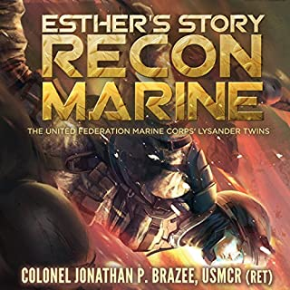 Esther's Story: Recon Marine cover art