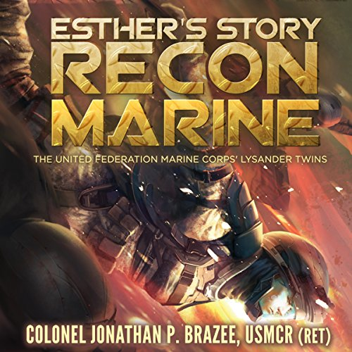 Esther's Story: Recon Marine audiobook cover art