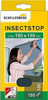 comprar comparacion Schellenberg 20409 - Mosquitera, protección anti insectos y moscas para ventanas, color negro