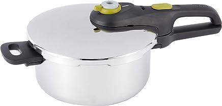 Tefal Authentique Secure 5 Neo 4L Pressure Cooker - P2534239, Silver