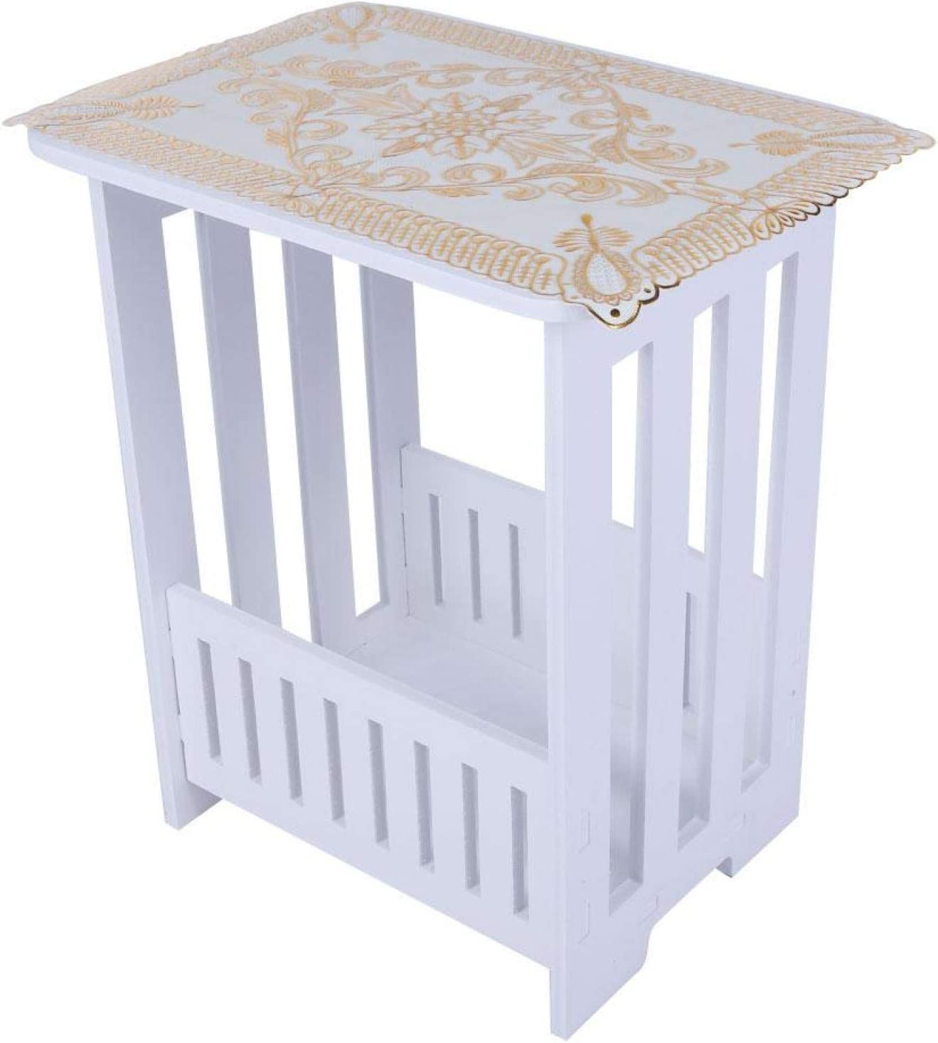 Okuyonic End Table Good Bearing 342640c for White Capacity Cafes 4 years Max 88% OFF warranty