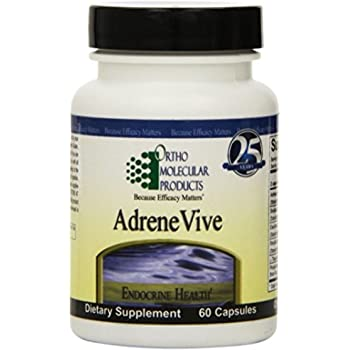 Ortho Molecular Products Adrene Vive Capsules, 60 Count