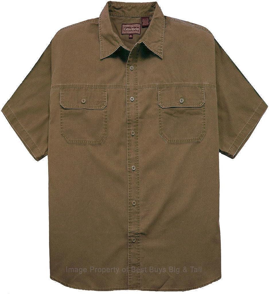 Falcon Bay Big & Tall Men's Casual Adventure Shirt