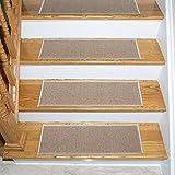 Ottomanson escalier stair tread, 7 Pack, Beige