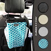 Keep It Clean CarBage The Auto Trash Can, Auto Litter Bag, Auto Garbage Bin, Car Trash Pail, Great for Cars, Boats & RV's, Assorted Colors