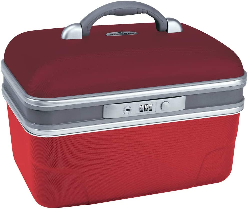 Rouge coquelicot///écarlate 34 X 20 X 23 cm 13 L 1,6kg SAVEBAG Vanity rigide ASHOKA