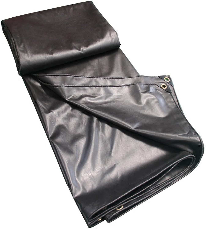 Regendichtes Tuch Im Freien Multifunktionssonnenschutz-Wasserdichter Plane-LKW-Stoff Schwarzes Schwarzes Schwarzes Öl-Tuch PVC-Plastik Bedeckte Regen-Tuch 0.35mm B07H7ZV79D  Großhandel 9810cb