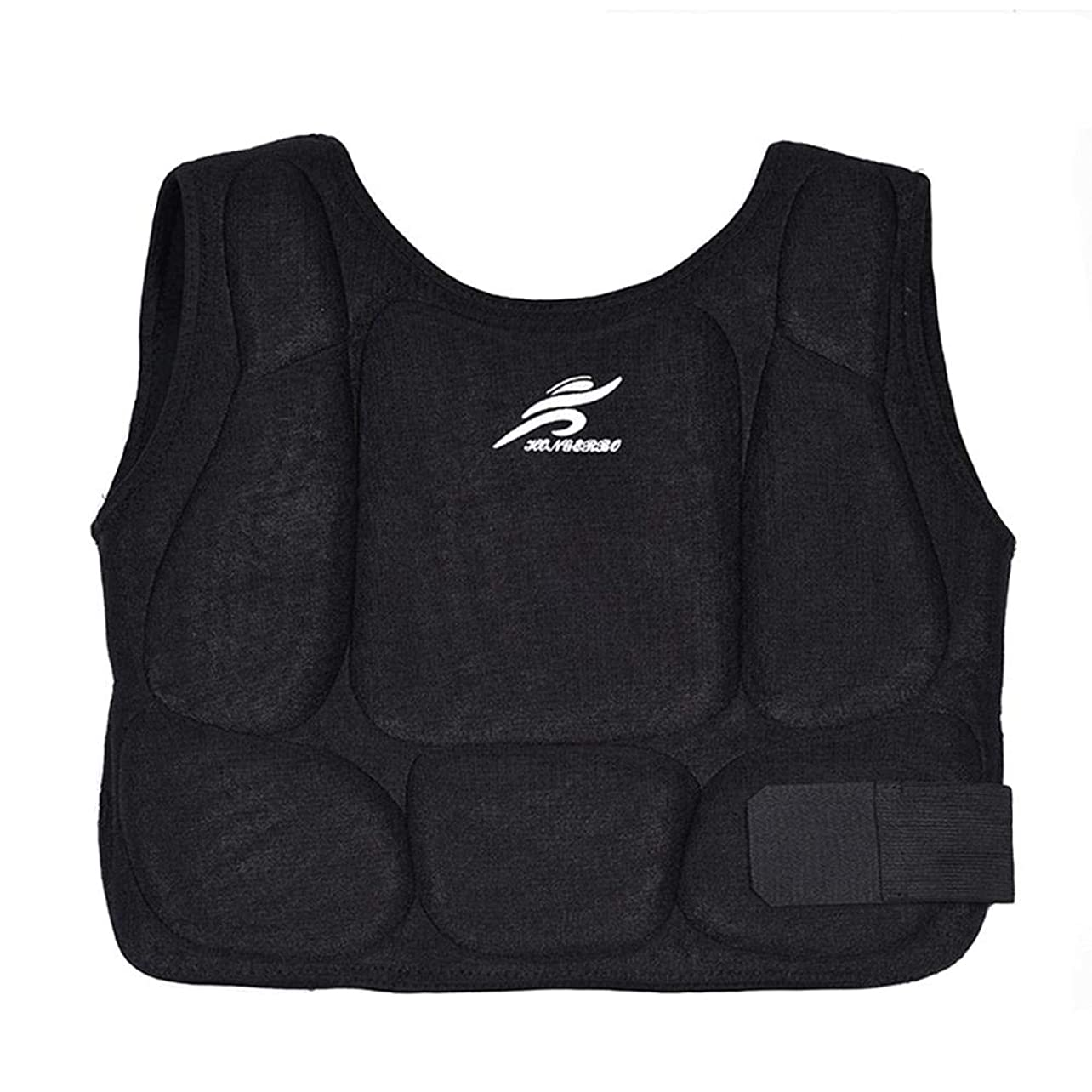 Karate Chest Guard Protector Kids Teens Adult Taekwondo Training Martial Arts Vest Boxing Body Breast Wear Shoulder Protection Waistcoat Armour Pad For Kick Of Ribs Belly Rib Shield Protective fnayrewjlkq28