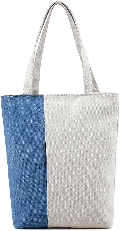 Hiigoo Women's Casual Handbags Fashion Ecofriendly Shopper Bag Canvas Bag Totes