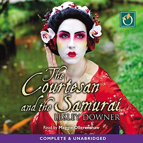 The Courtesan and the Samurai audiobook cover art