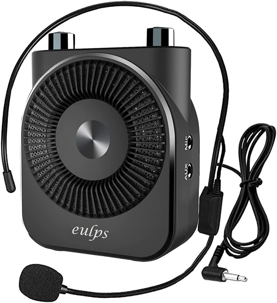 Eulps 20W Portable Voice Tucson Mall Amplifier Rechargeable PA 2600mAh El Paso Mall Syste