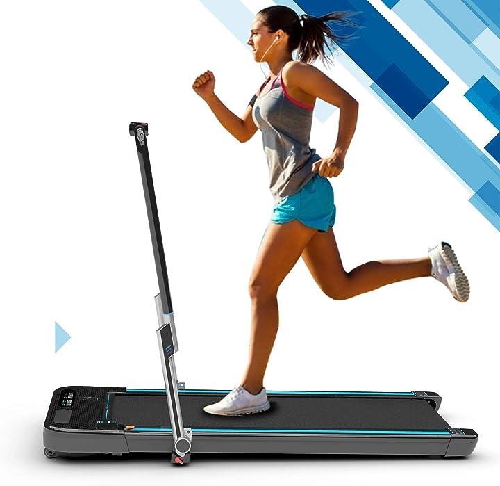 Tapis roulant leggero treadmill elettrico, macchina da corsa per fitness 2wd B08GM4SWQZ