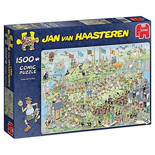 Jumbo 19088 - Jan Van Haasteren-Highland Games 1500 Teile Puzzle