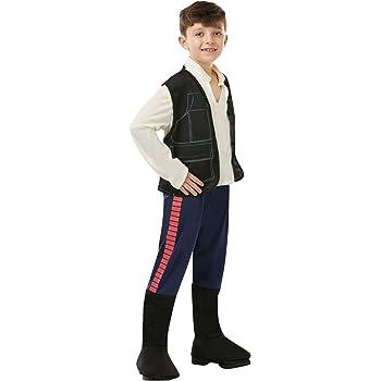 Star Wars - Disfraz de Han Solo para niño, infantil 3-4 años ...