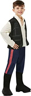 Rubie's Star Wars Classic Child's Deluxe Han Solo Costume, Large