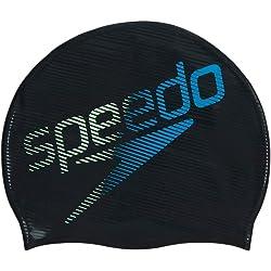 Speedo Slogan Print Cap Au - Gorros de natación