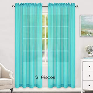 Best green turquoise curtains Reviews