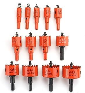 13Pcs 16-53Mm M42 Bi Metal Hole Saw Cutter Tooth Cutter Drill Bit For Wood Pvc Plastic Drywall Metal Drill Tolls