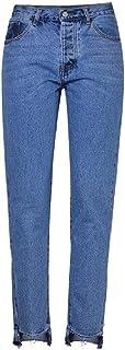 Beauty Garden - Pantalones vaqueros de algodón para mujer, color azul
