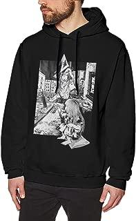 BYE6I1WJRN New Silent Hill Men's Black Long Sleeve Sweatshirts Hoodies