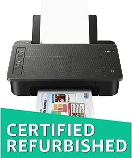 (Renewed) Canon Pixma TS307 Single Function Wireless Inkjet Colour Printer (Black)