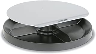 Monitor Stand, Spin, Plastic, Black