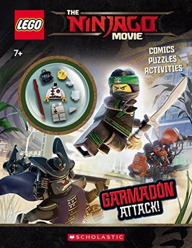 Garmadon Attack LEGO NINJAGO Movie Activity Book with Minifigure product image