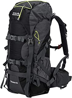 ROYAL MOUNTAIN Waterproof Climbing Daypack Outdoor Sports Hiking Backpack (50L)