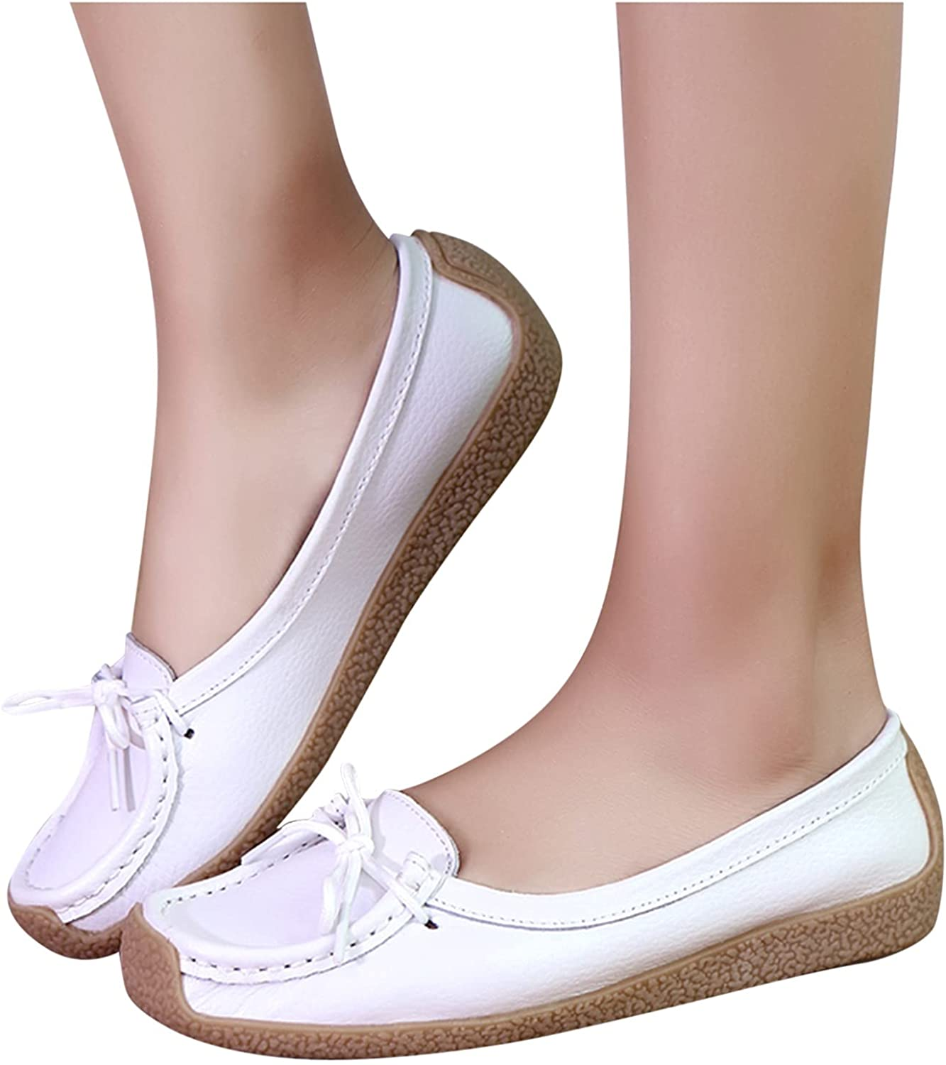 Womens Casual Slip On Shoes Max 64% OFF Leisure Sales of SALE items from new works Soft Bottom Ro Women Slip-On
