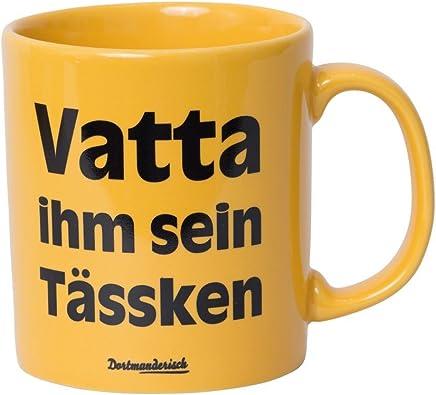 Preisvergleich für Tasse Kaffeebecher gelb Vatter